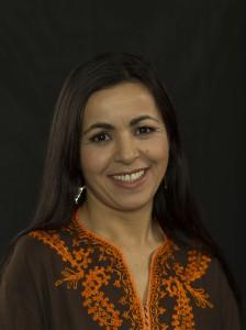 Die Autorin Aicha Laoula